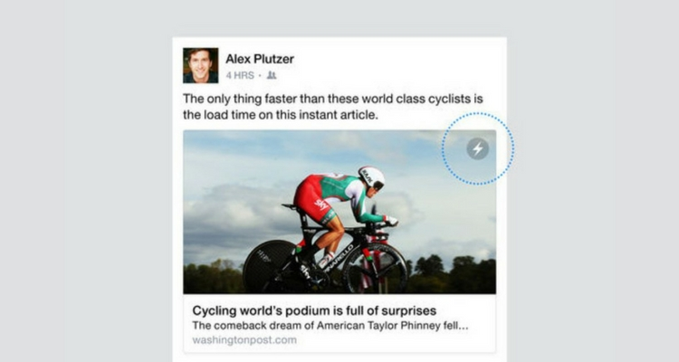 instant articles de facebook post